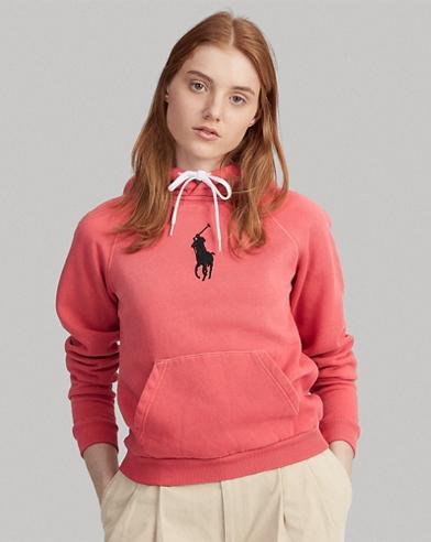 Shrunken Fit Big Pony Hoodie