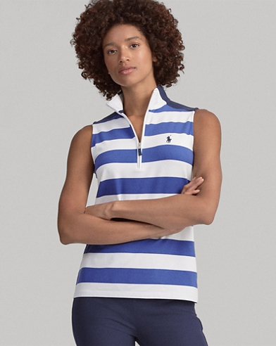 Polo de golf Tailored Fit a rayas