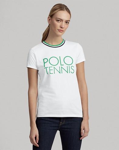 Wimbledon Cotton Graphic Tee