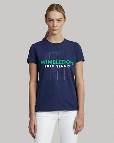 Wimbledon Cotton Graphic Tee