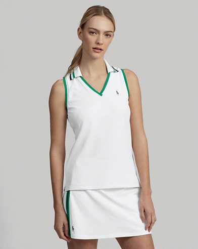 Wimbledon Sleeveless Polo