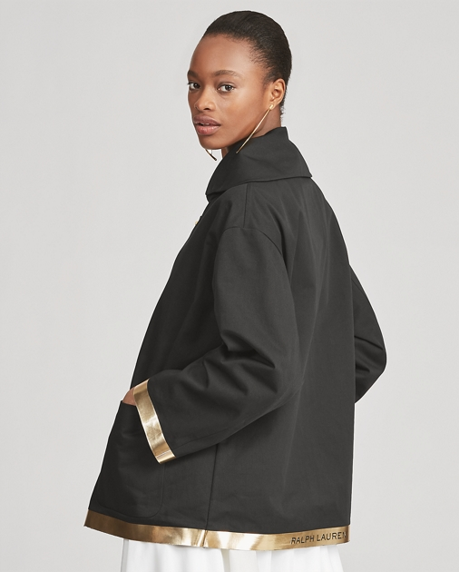 Collection Apparel Manteau court Morris en coton 6