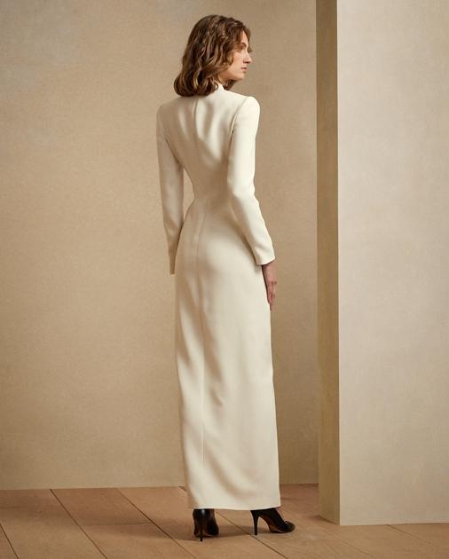 Collection Apparel Kristian Silk Tuxedo Dress 5