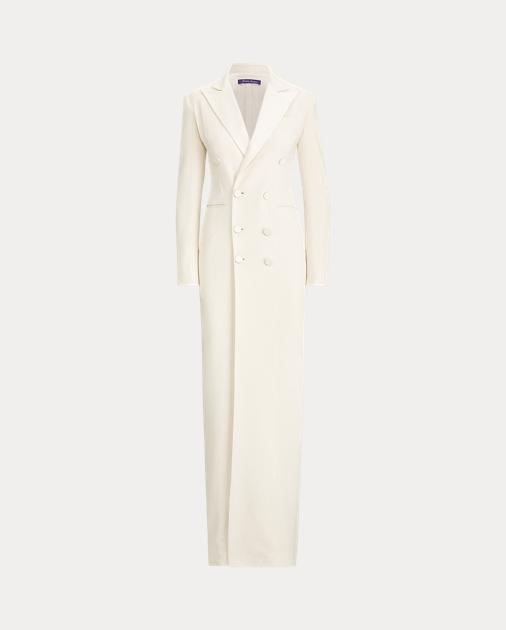 Collection Apparel Kristian Silk Tuxedo Dress 2