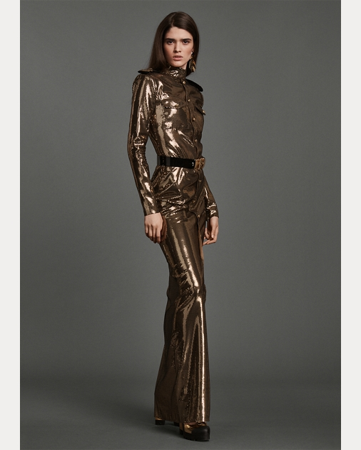 Collection Apparel Norwood Sequined Evening Gown 1