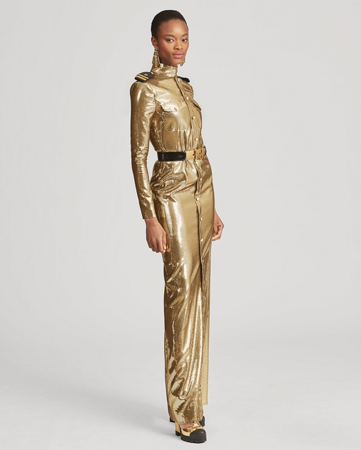 Collection Apparel Norwood Sequined Evening Gown 3