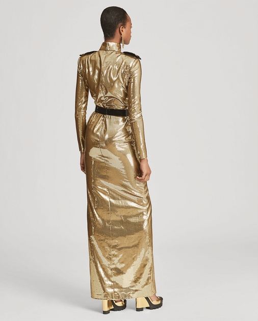 Collection Apparel Norwood Sequined Evening Gown 6