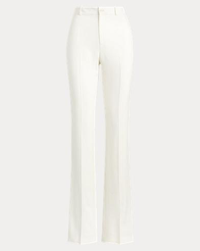 Pantalon Scarlette en laine stretch