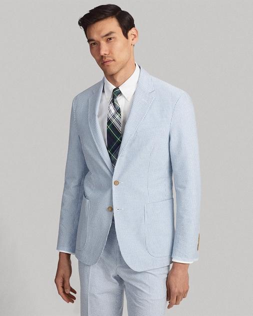 4f3f0af0 Polo Ralph Lauren Seersucker Suit Jacket 1