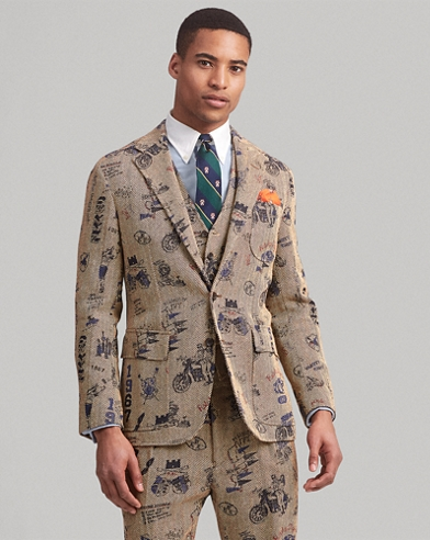 Polo Soft Graphic Suit Jacket