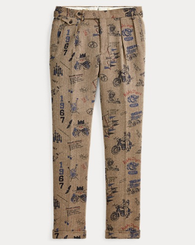 Graphic Suit Trouser