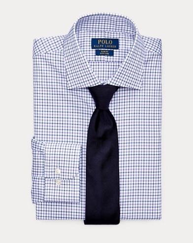 Slim Fit Tattersall Shirt