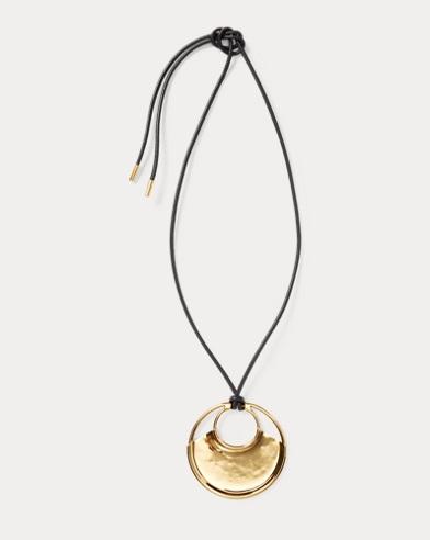 New Wave Pendant Necklace