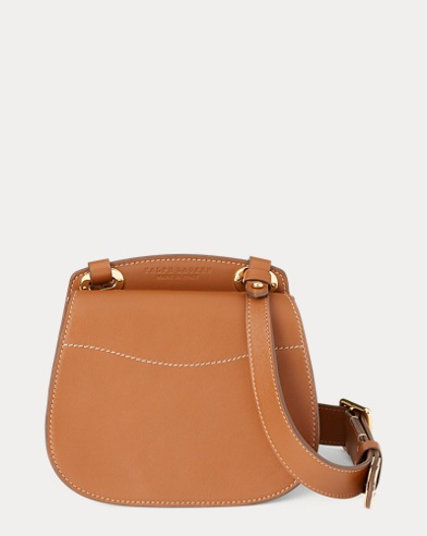 92e1a0abfbb2 Calfskin Mini Saddle Crossbody. Ralph Lauren. Calfskin Mini Saddle  Crossbody.  1