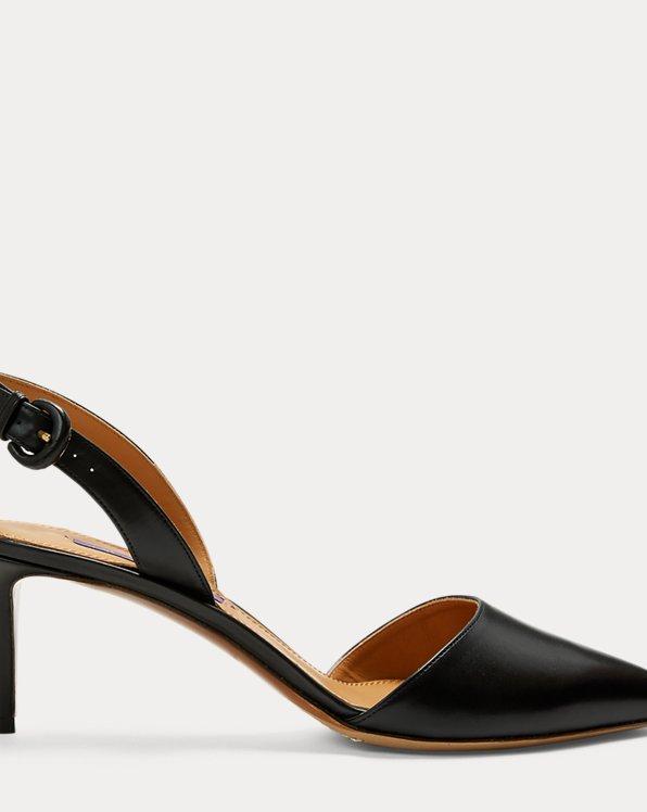 Chaussures Diannah en vachette à bride arrière