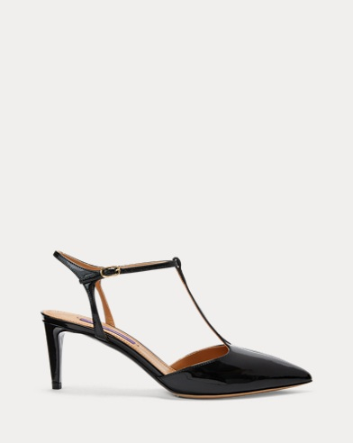 Dillyn Patent T-Strap Pump