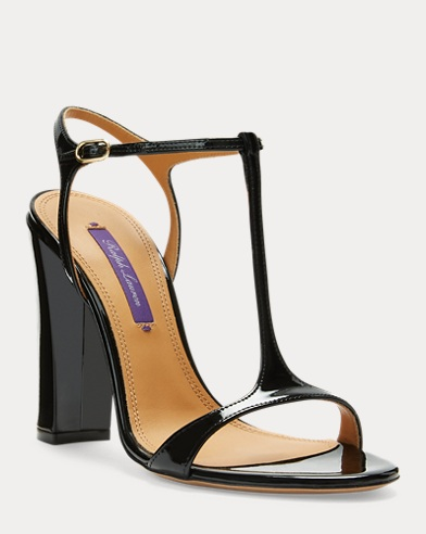 Natiera Patent Leather Sandal