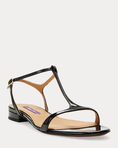 Silena Patent Leather Sandal