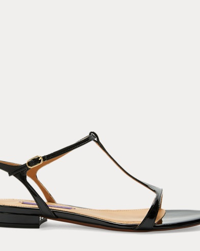 Silena Patent Leather Sandal