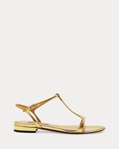Sandale Silena aus Specchio-Leder