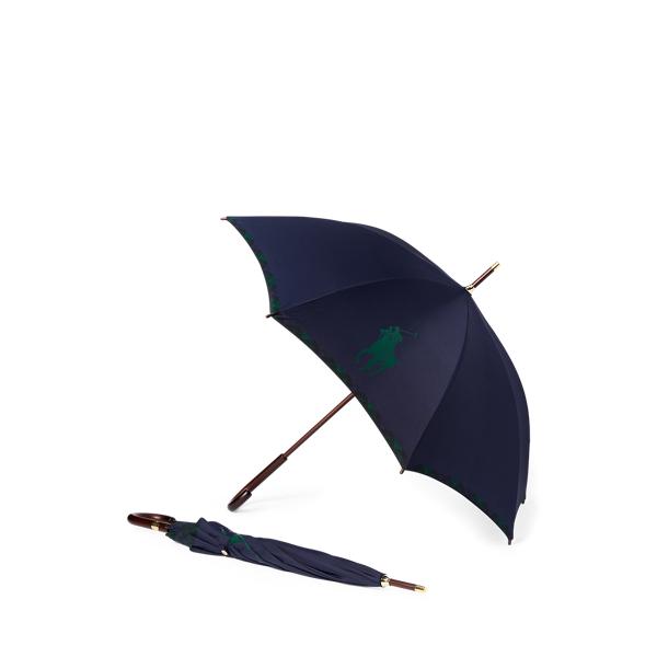 폴로 랄프로렌 RLX 골프 체크 우산 Polo Ralph Lauren Big Pony Plaid Umbrella,Navy