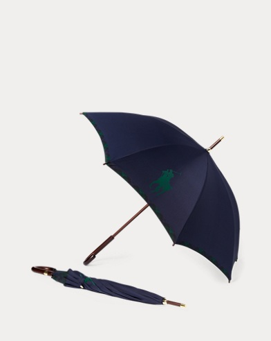 Big Pony Plaid Umbrella