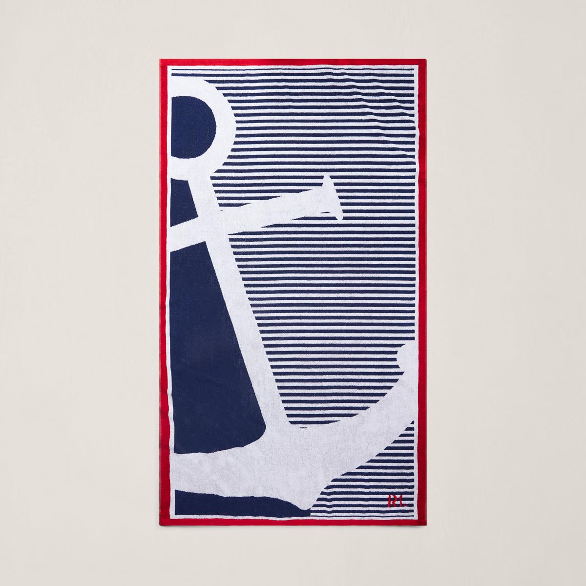 Ralph Lauren Greek Isles Beach Towel: Alderbrook Beach Towel