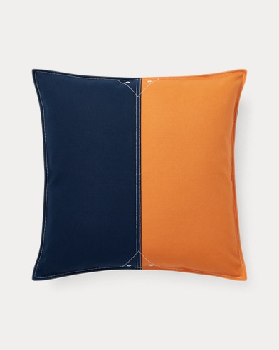 Casey Color-Block Throw Pillow
