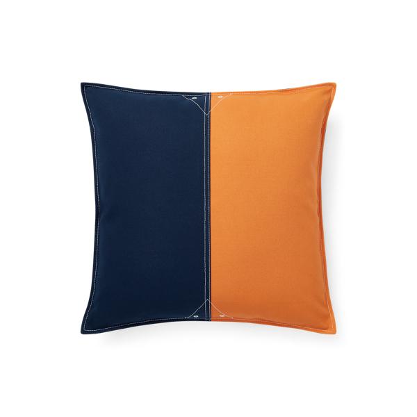 Lauren Ralph Lauren Home Casey Color-block Throw Pillow In Multi