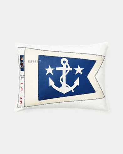 Casey Pennant Throw Pillow