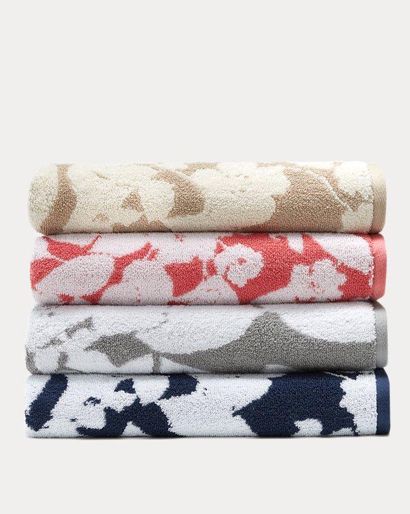 Sanders Floral Towels