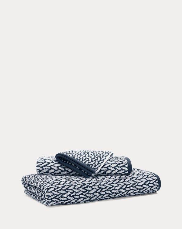 Sanders Basketweave Towels