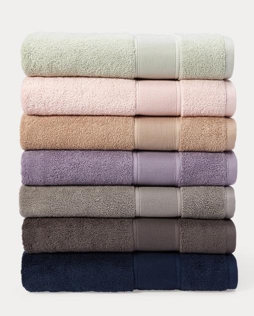 Lauren Home Sanders Towels & Mat 2