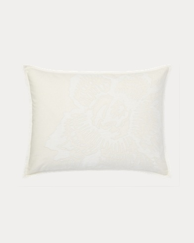 Lucie Appliqué Throw Pillow