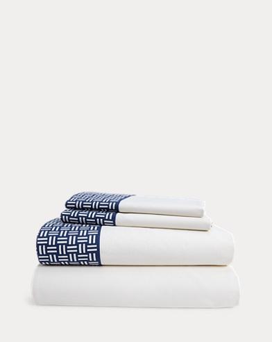 Nicola Basket-Weave Sheet Set