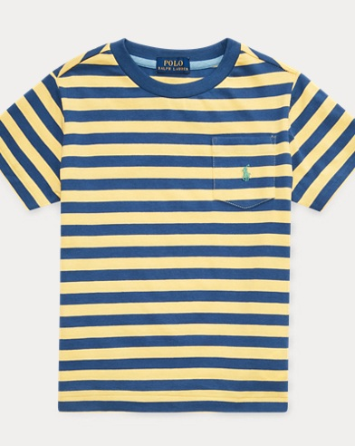 fe6134fe0 Striped Cotton Pocket Tee