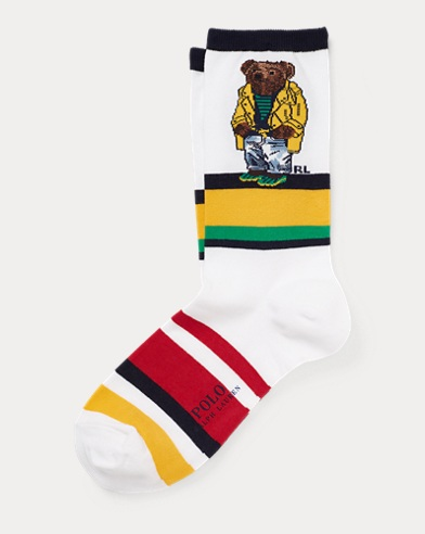 Polo Bear Trouser Socks