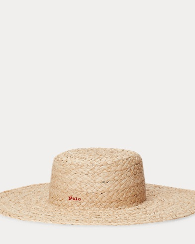 Braided Raffia Straw Hat