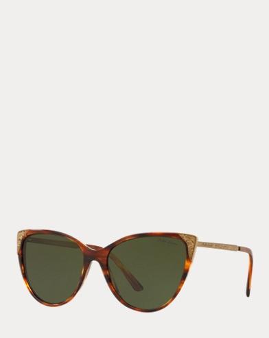 224f9cbbfa9 Hand-Tooled Cat-Eye Sunglasses. Ralph Lauren