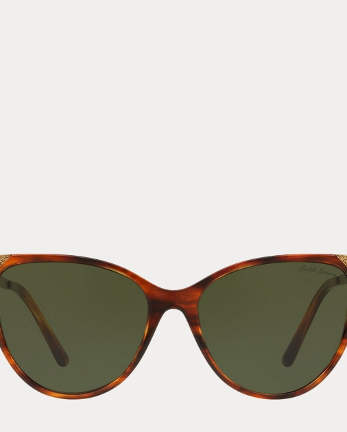 37782c093f Ralph Lauren Hand-Tooled Cat-Eye Sunglasses 1