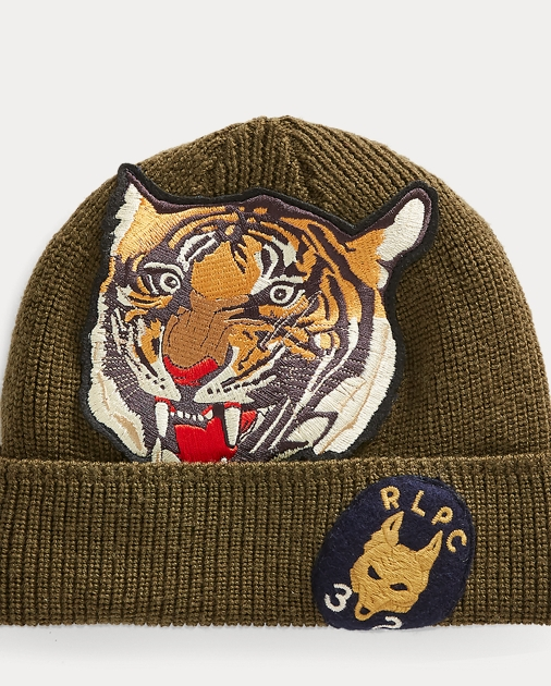 2adf06c2f Upcycle Tiger Knit Hat