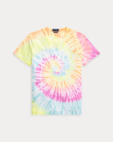Custom Slim Fit Tie-Dyed Tee