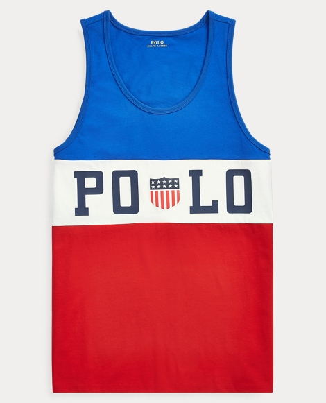 Cotton Jersey Graphic Tank