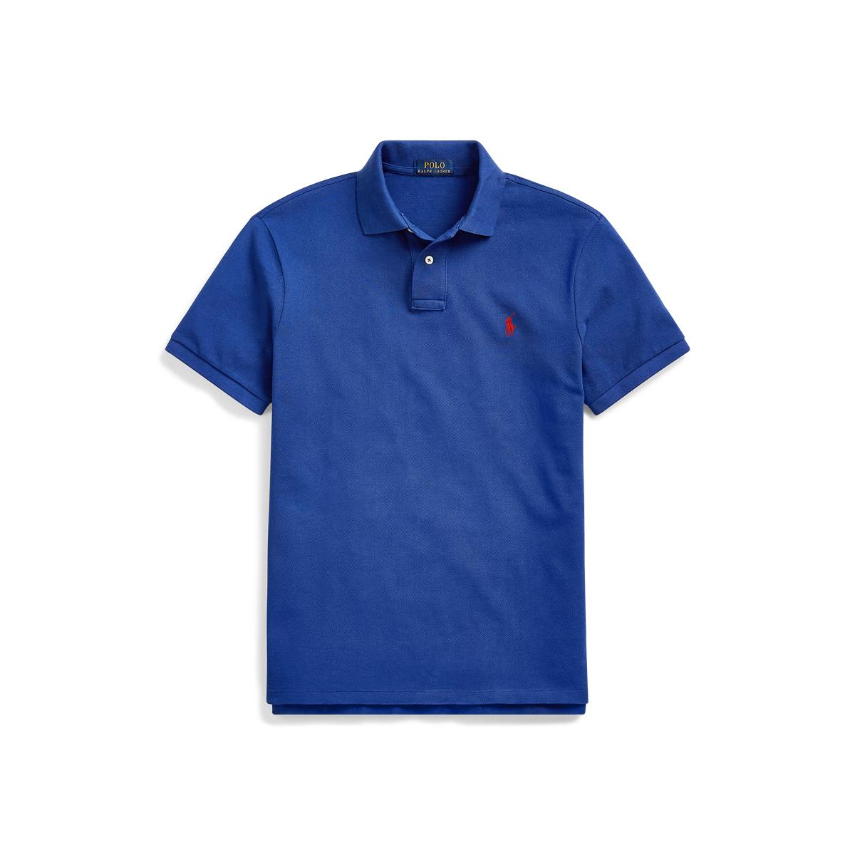 373fae2a Custom Slim Fit Mesh Polo | Ralph Lauren UK