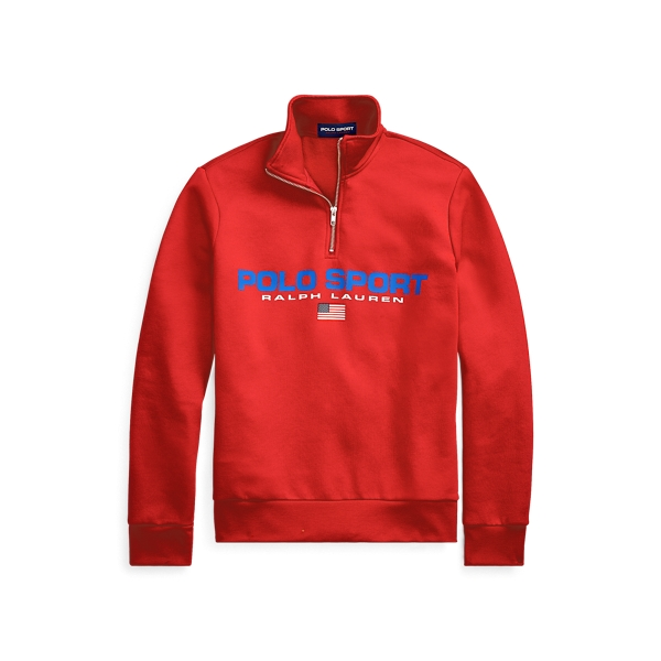 폴로 랄프로렌 Polo Ralph Lauren Polo Sport Fleece Sweatshirt,RL 2000 Red