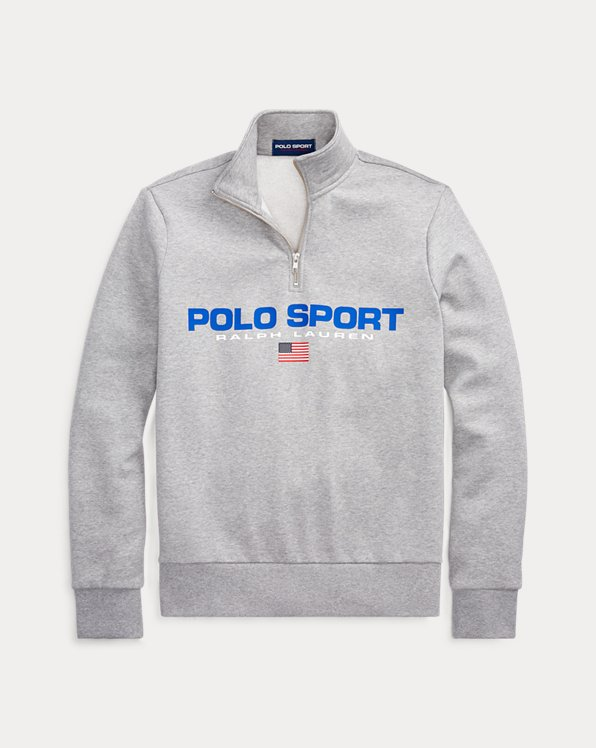 Sweat Polo Sport en molleton