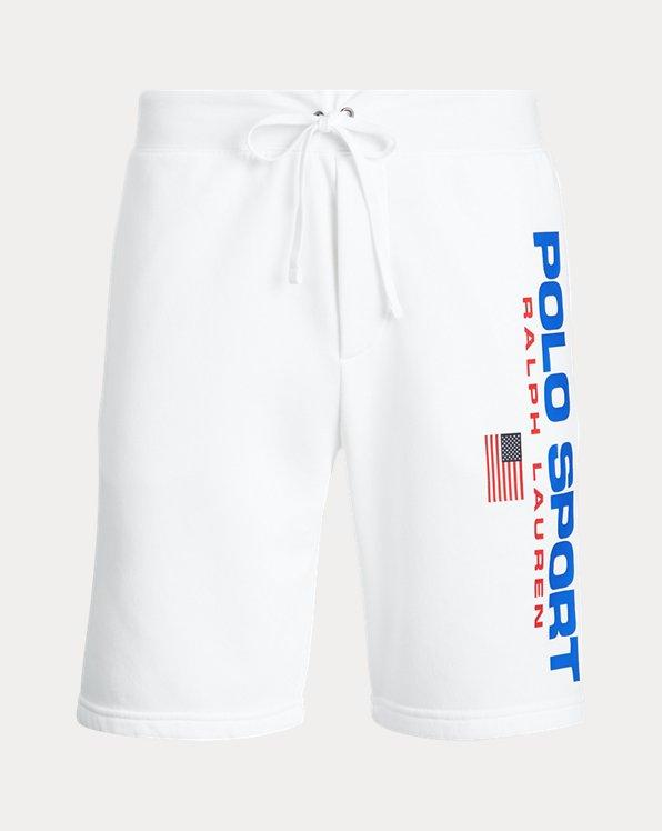 Pantalón cortode tejido polar Polo Sport