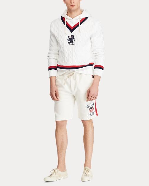 22ecbcb410 Hooded Cricket Sweater