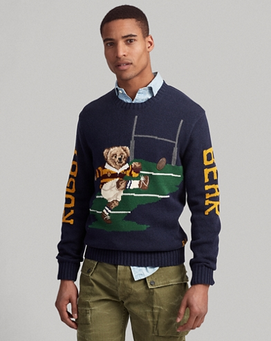 a07fb3fd7 Rugby Bear Sweater