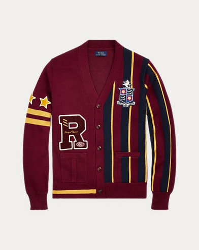 The Polo Crest Cardigan